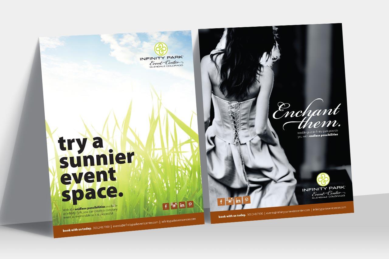 Infinity Park Event Center Ads