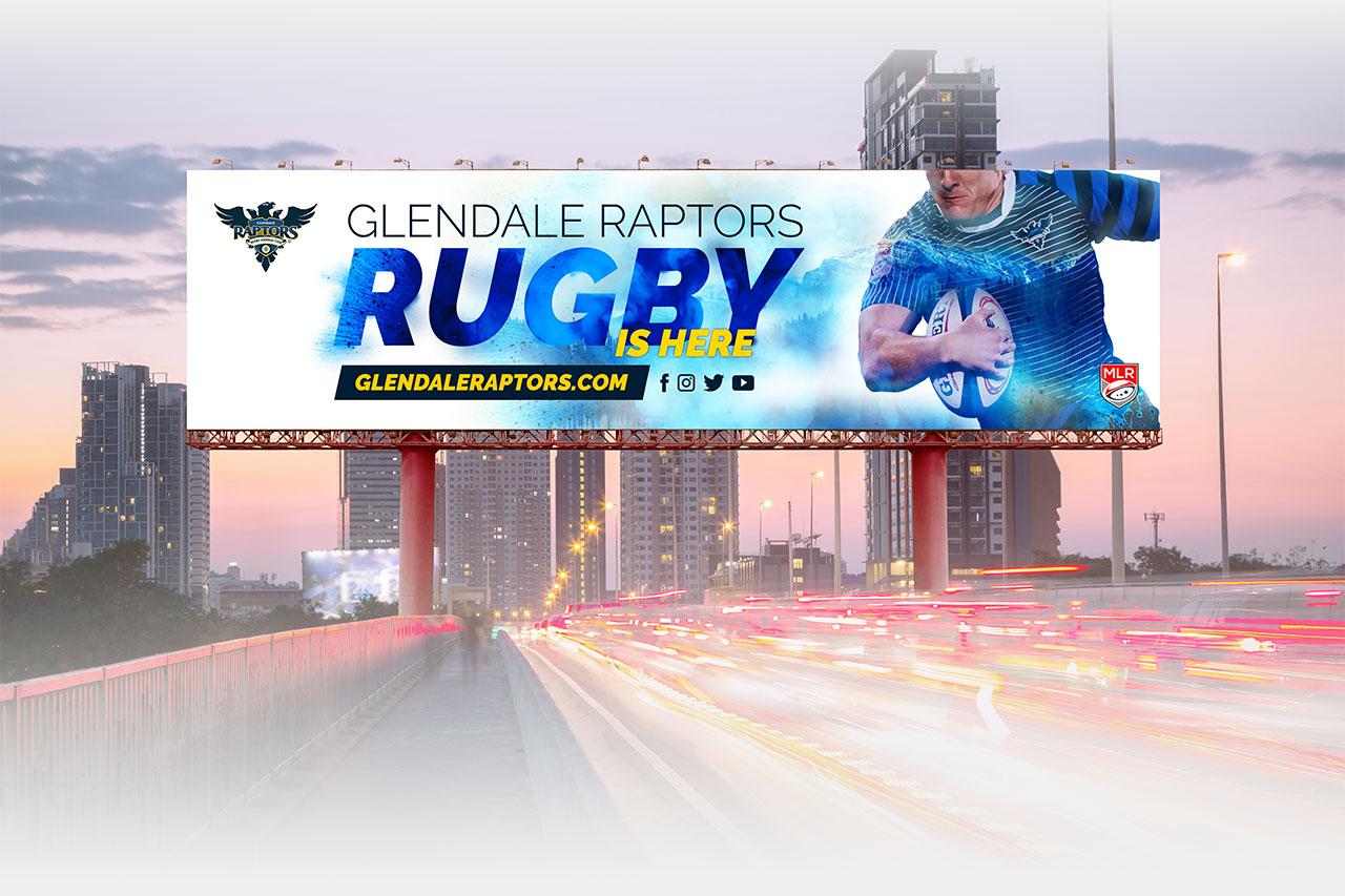 Glendale Raptors Billboard