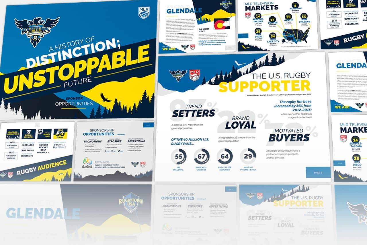 Glendale Raptors Booklet