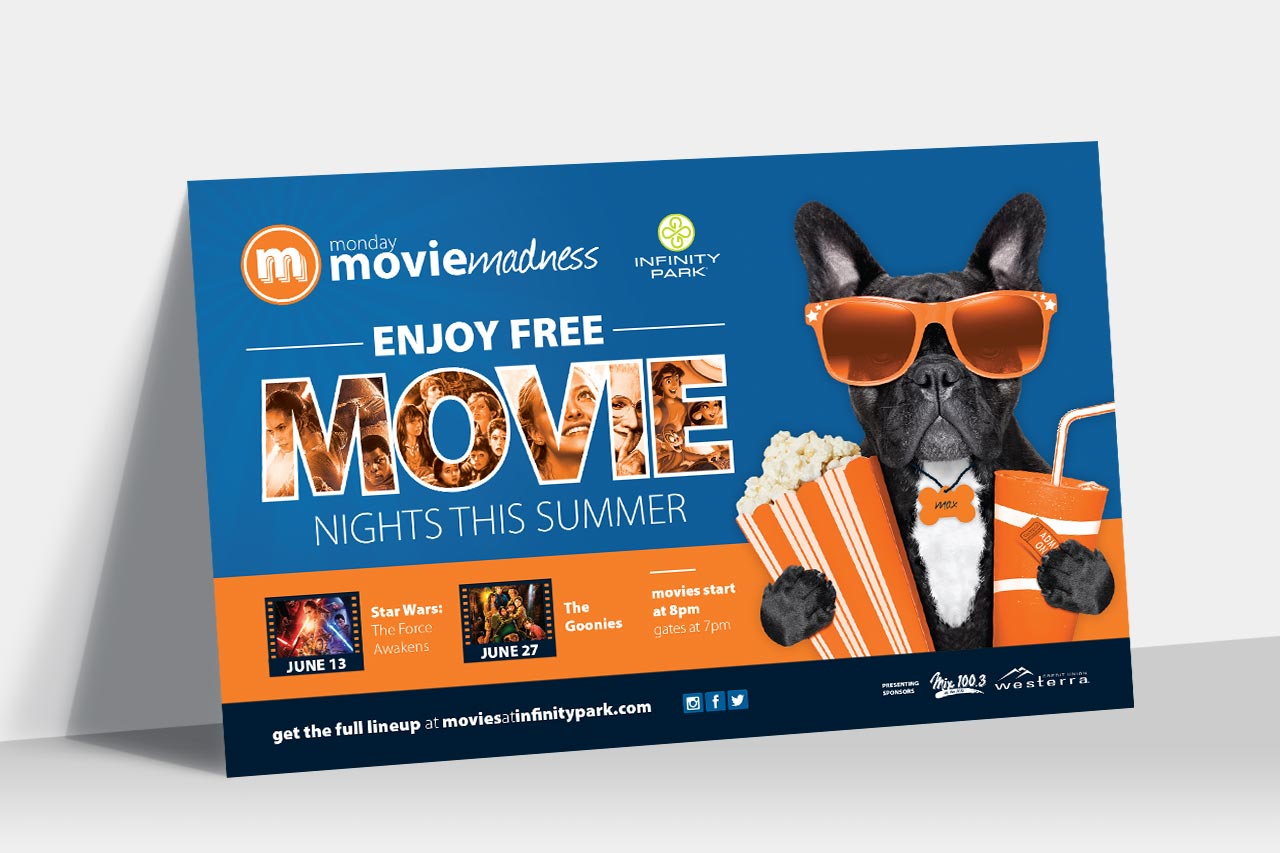 Monday Movie Madness Ad