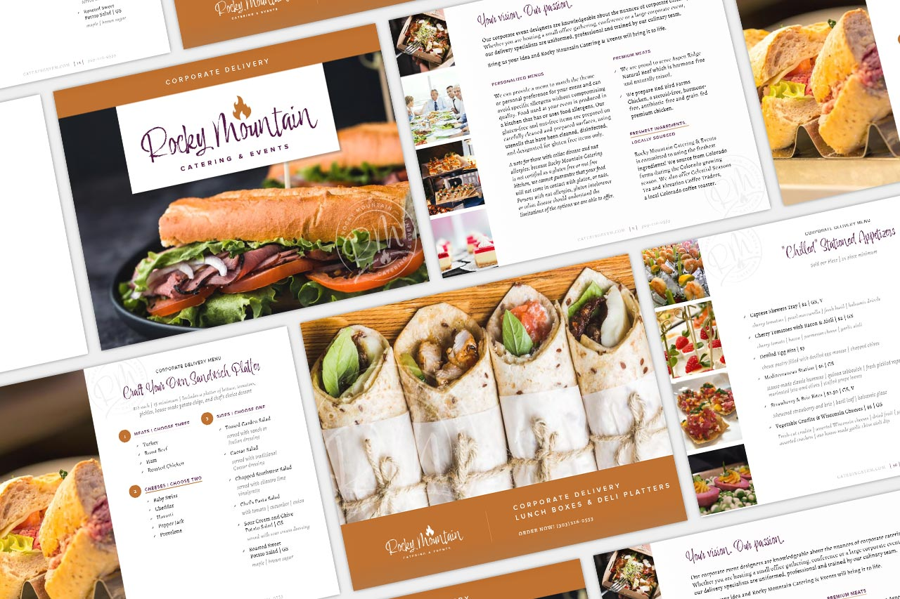 Rocky Mountain Catering - Corporate Menu