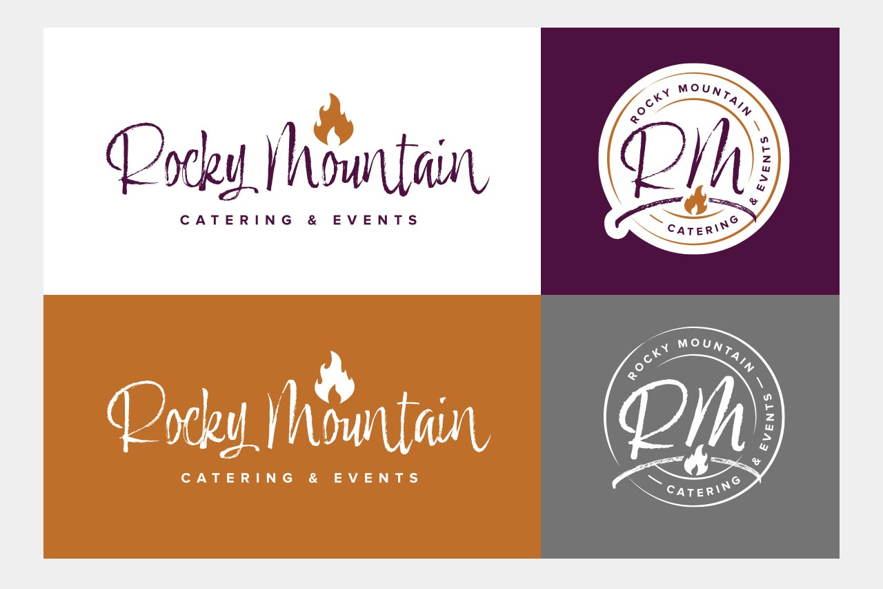 Rocky Mountain Catering - Logo